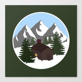 Cozy Cottage Canvas Print