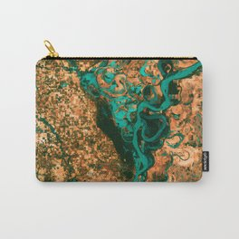 Meandering Mississippi Carry-All Pouch