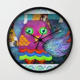 Klimty Forest Wall Clock