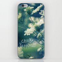 happiness iPhone & iPod Skins featuring Happiness by Sandra Arduini