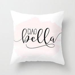 CIAO BELLA DESIGN, Ciao Bella Wall Art,Spanish Quote,Spanish Decor,Spanish Gifts,Modern Decor Throw Pillow