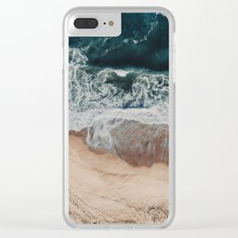 Sands of Gold Clear iPhone Case