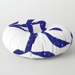 Chinese Year of the Rabbit Floor Pillow