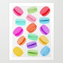 Macaron Rainbow Art Print