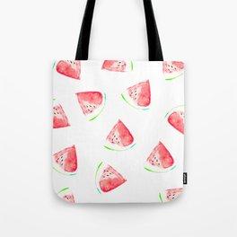 watermelon slice print Tote Bag