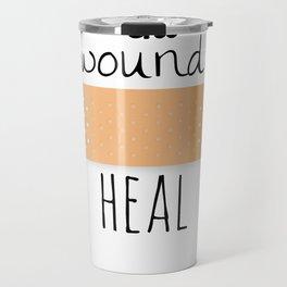 All wounds heal Travel Mug