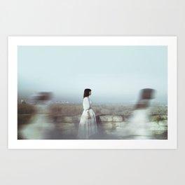 Passing Art Print