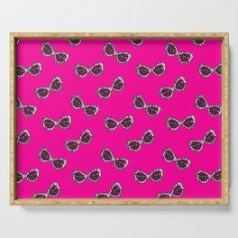 Diva Sunglasses-Pink Serving Tray