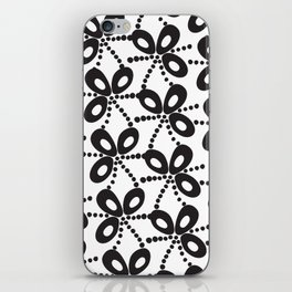 Quirky Black & White iPhone Skin