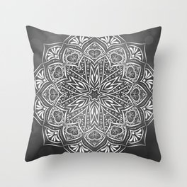 Mystic mandala Throw Pillow