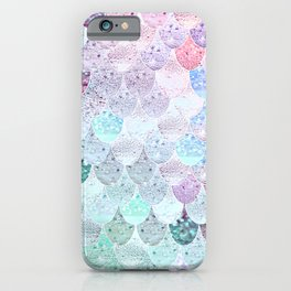 SUMMER MERMAID - CORAL MINT iPhone Case
