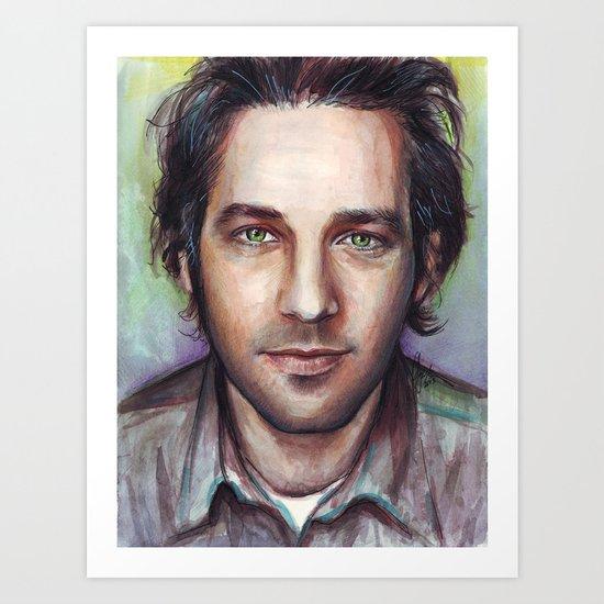 Paul Rudd Art Print