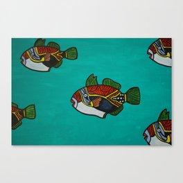 Humuhumu's  Canvas Print