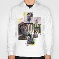 basquiat Hoodies featuring Basquiat by Andrew Spangler