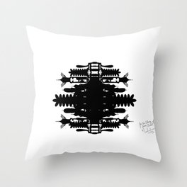 A Template for Your Imagination Throw Pillow