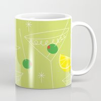 cocktail Mugs featuring Cocktail by ViconiaMcAliens