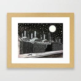 Poppy Moonshine Framed Art Print
