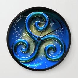 Sacred Geometry - Trinity 07 Wall Clock