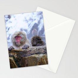 Jigokudani Monkey Park (Japan) Stationery Cards