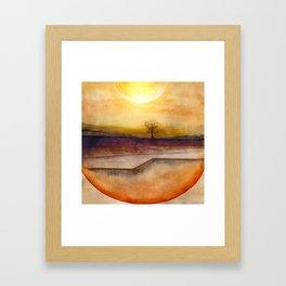 LoneTree 03 Framed Art Print