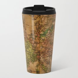 Map of Europe 1740 Travel Mug
