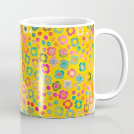 dp065-7 floral pattern Coffee Mug