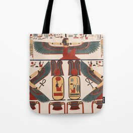 Ancient Egyptian pattern design Tote Bag