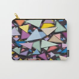 Transitional Triangles Carry-All Pouch