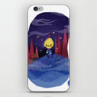 skeletor iPhone & iPod Skins featuring Skeletor is love by David Pavon