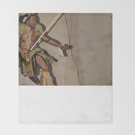 Zulu Throw Blanket