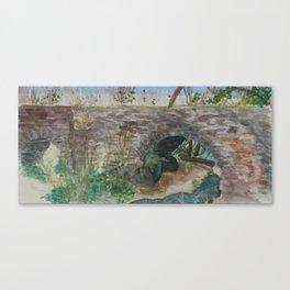 Espada Aqueduct Canvas Print