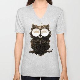 Hoot! Night Owl! Unisex V-Neck