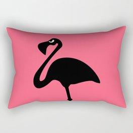 Angry Animals: Flamingo Rectangular Pillow