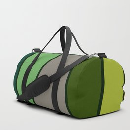Green Abstract Pattern Turtle Duffle Bag