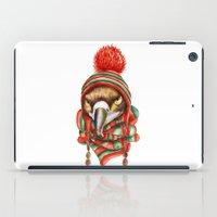 hawk iPad Cases featuring Hawk by Julia Badeeva