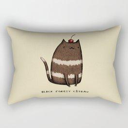 Black Forest Câteau Rectangular Pillow