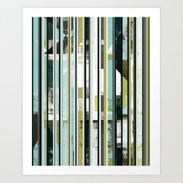 modern mid century, Graphic art, neutral colors, geometric art, circles, modern painting, abstract Art Print