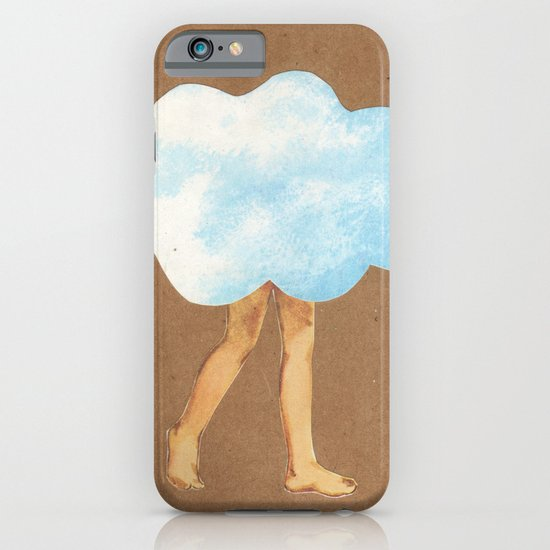 Cloud Girl iPhone & iPod Case