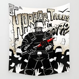 Horror Tales in Catalonia october 1st Wall Tapestry