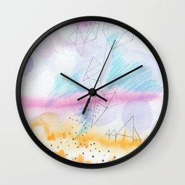 Prairie house Wall Clock