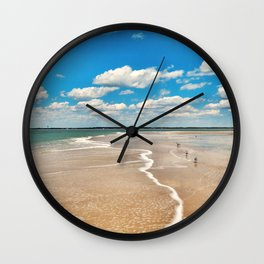 Salty Days Wall Clock