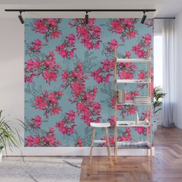 Della Floral Wall Mural