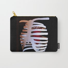 Ribcaged Heart Carry-All Pouch