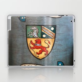 vintage tea jar coat of arms london Laptop & iPad Skin