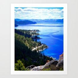 North Lake View Art Print