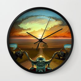 Land of the Winds Wall Clock