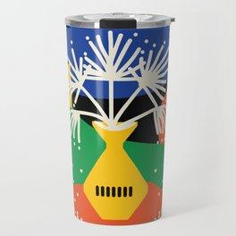 Seaside Winter Travel Mug