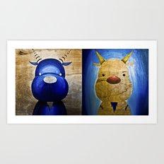2 Bubs Art Print