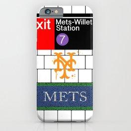 NYC Subway iPhone Case