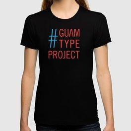 Guam Type Project Logo T-shirt
